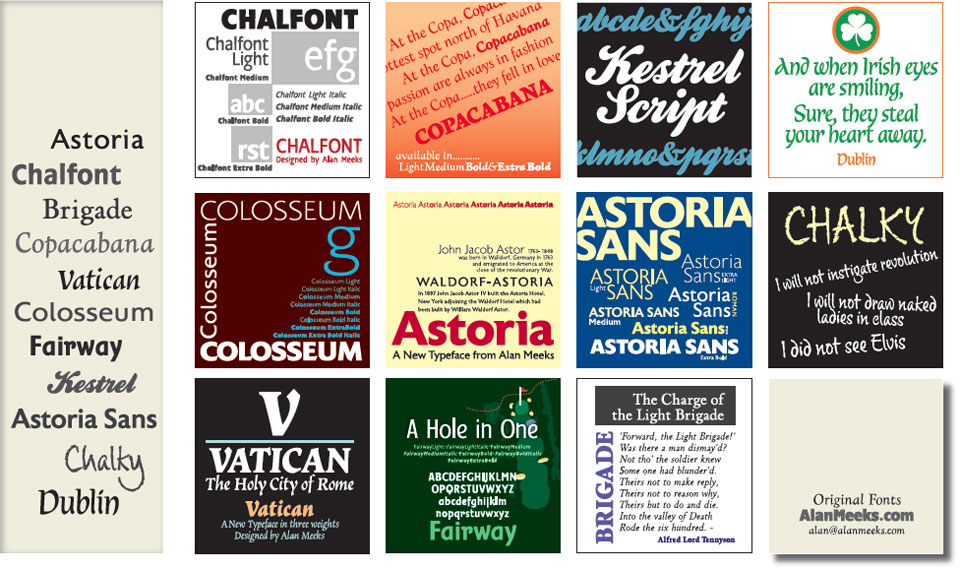 Fonts Homepage
